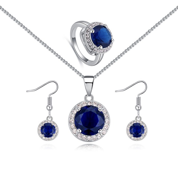 Móda Slitina Kamínky Ladies ' Sady šperků