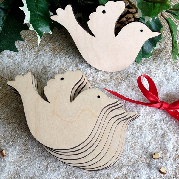 Creative Fashion Wooden (Set of 10) Non-personalized Gifts