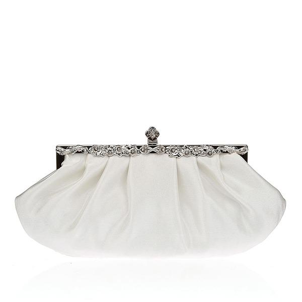 Charming Silk/Crystal/ Rhinestone Clutches/Bridal Purse/Evening Bags