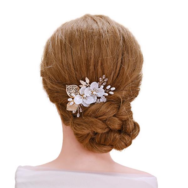Bayan Şık Yapay elmas/Bakır Saç Tokaları (Tek parça Satılan)