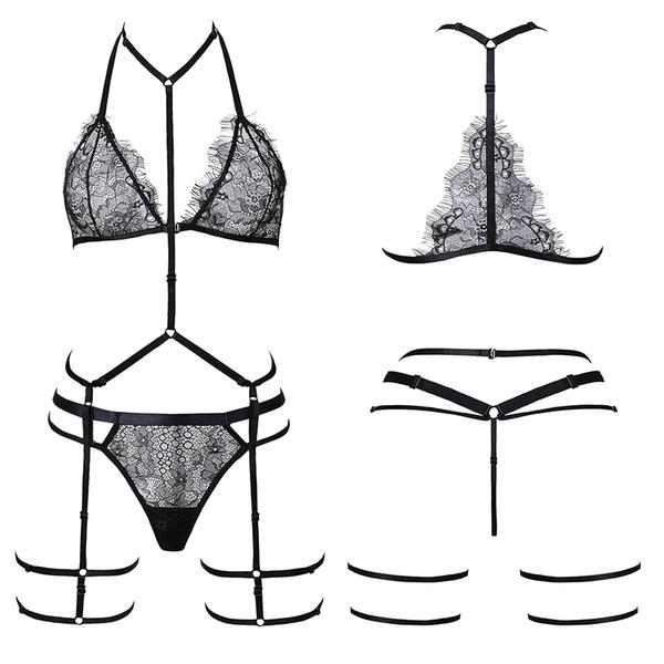 Sexy Brautmoden/Weiblich Wäschesets