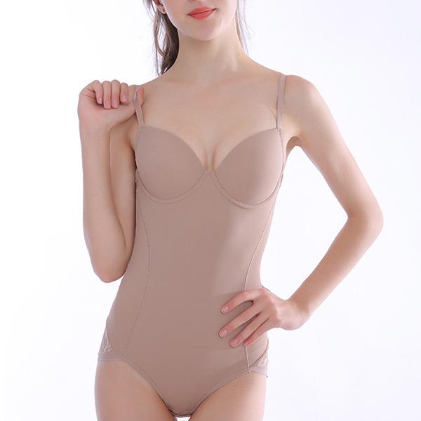 Kvinner Vrouwelijk/Sexy/Elegant Chinlon bodysuit Corrigerend Ondergoed