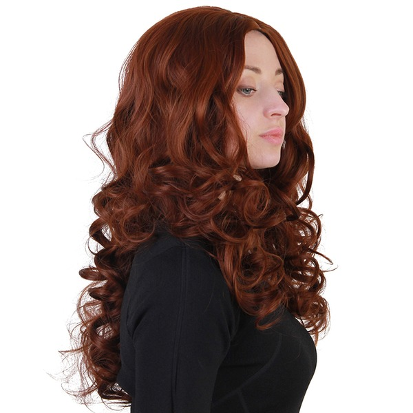 Kinky Curly Synthetic Hair Synthetic Wigs 220g