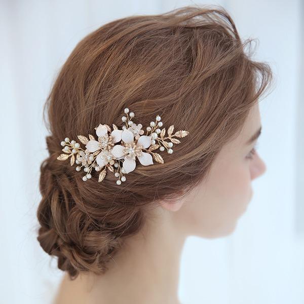 Damen Einzigartig Legierung/Faux-Perlen Kämme und Haarspangen mit Venezianischen Perle (In Einem Stück Verkauft)