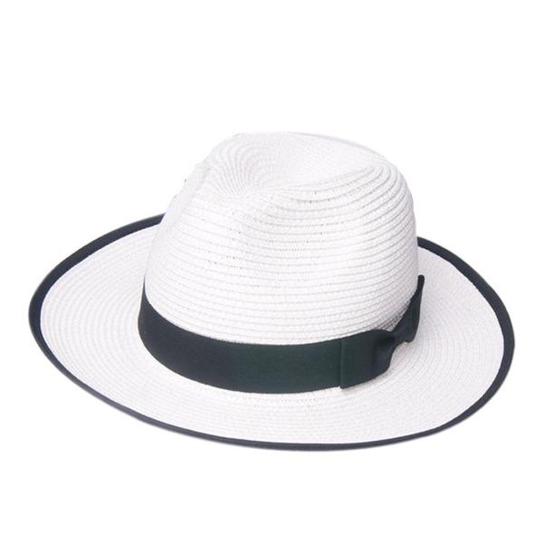 Unisexmodell Hotteste Salty Straw Stråhatt/Panama Hat/Kentucky Derby Hatter