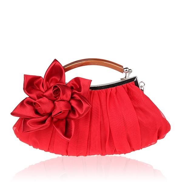 Elegant Zijde Koppelingen/horlogebandjes/Bakken/Bruidstasje/Fashion Handbags/Makeup Bags/Luxe Koppelingen