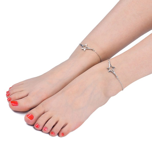 Alloy Foot Sieraden (Set van 2)