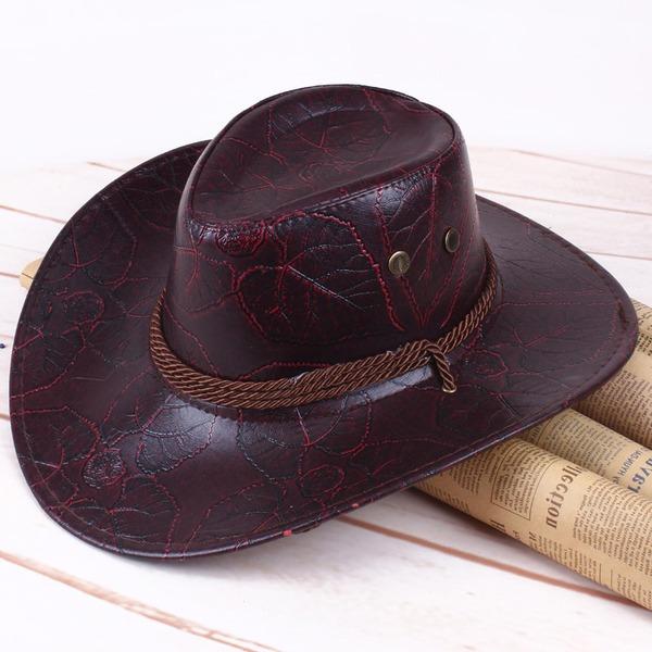 Män Klassisk stil läder/Pu Cowboyhatt