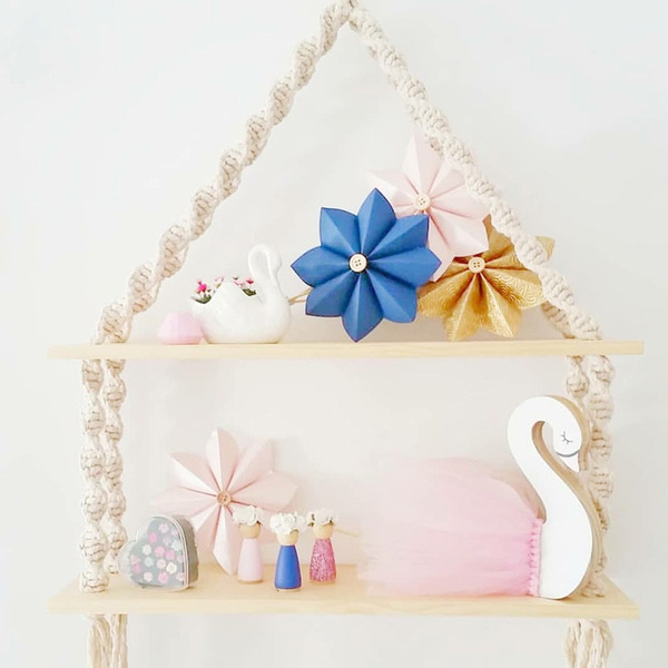Elegant Cotton Wooden Storage&Organization (Sold in a single piece)