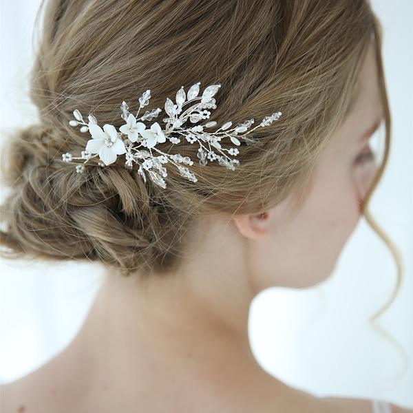 Klassische Art Legierung Haarnadeln mit Strass/Venezianischen Perle/Kristall (In Einem Stück Verkauft)