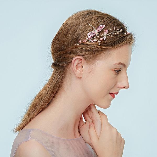 Damer Høy Kvalitet Legering Pannebånd med Rhinestone/Venetianske Perle (Selges i ett stykke)