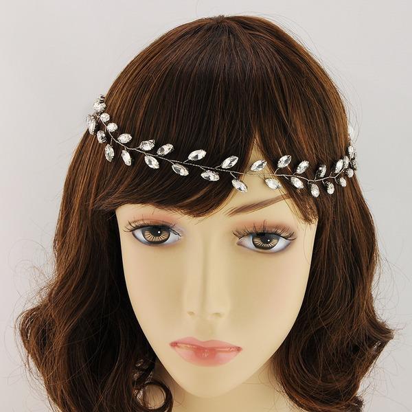 Damen Schöne Legierung Stirnbänder mit Kristall (In Einem Stück Verkauft)