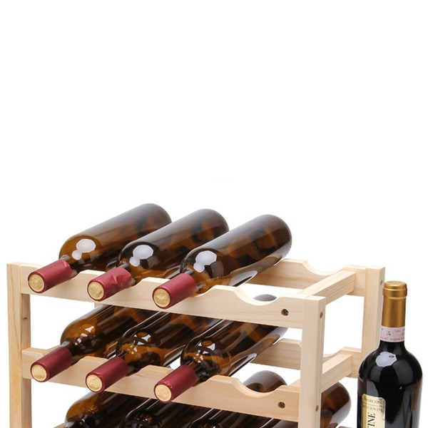 simple classic cute Wooden Wine Rack