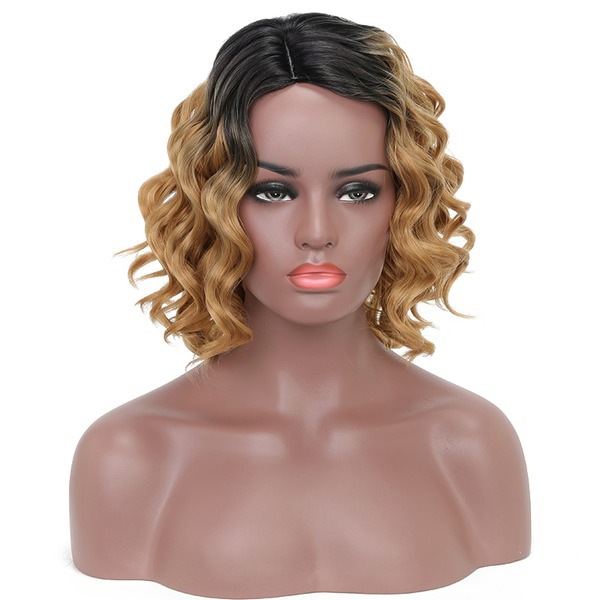 Body Wavy Synthetic Hair Synthetic Wigs 150g
