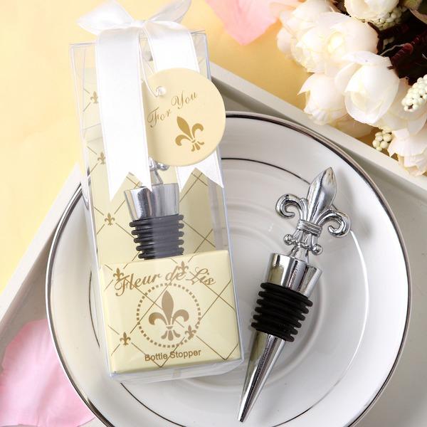 Fleur De Lis Bottle Stoppers