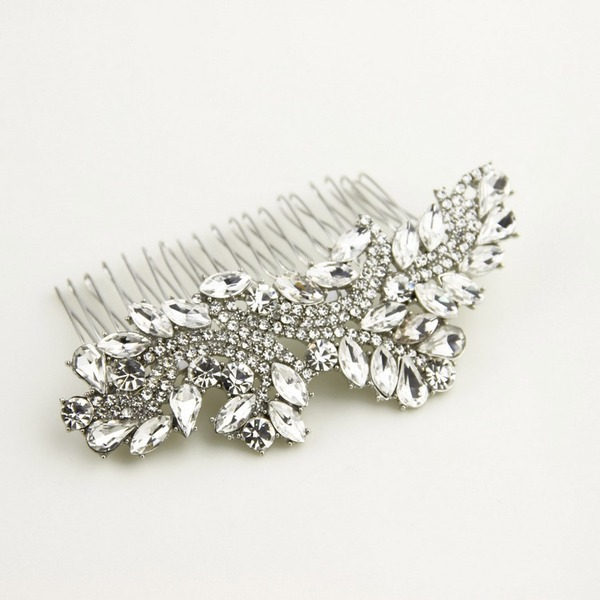 Ladies Unique Rhinestone/Alloy Combs & Barrettes