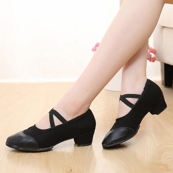 Femmes Similicuir Talons Salle de bal Chaussures de danse