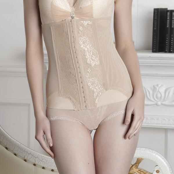 Kvinner Sexy/Klassiek/Night Club Chinlon/Nylon Ademend Taille Cinchers Corrigerend Ondergoed