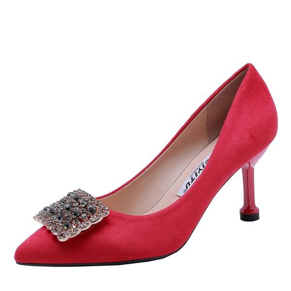 Femmes Satiné Talon stiletto Escarpins chaussures