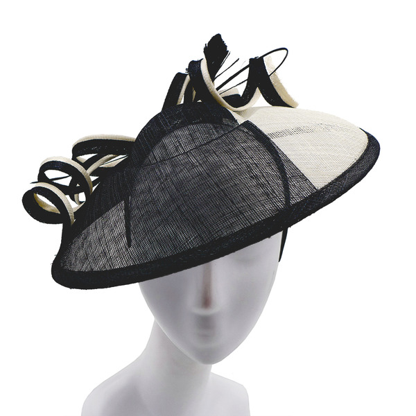 Dames Glamour/Simple/Gentil Batiste avec Feather Chapeaux de type fascinator/Kentucky Derby Des Chapeaux/Chapeaux Tea Party