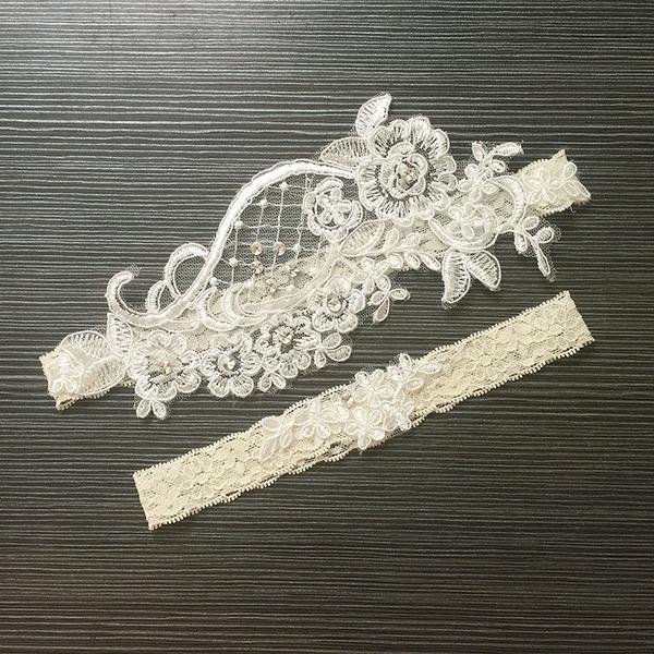 Dentelle Élégante Nuptiale/Féminine Jarretière