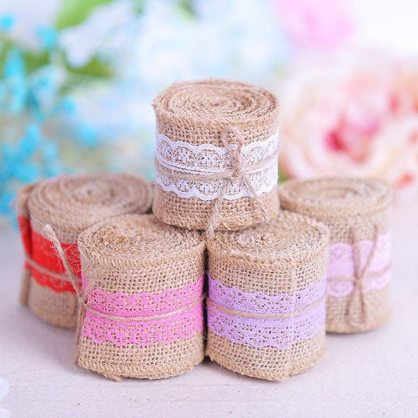 Simple/Nice Lovely Linen Wedding Ornaments (set of 10)