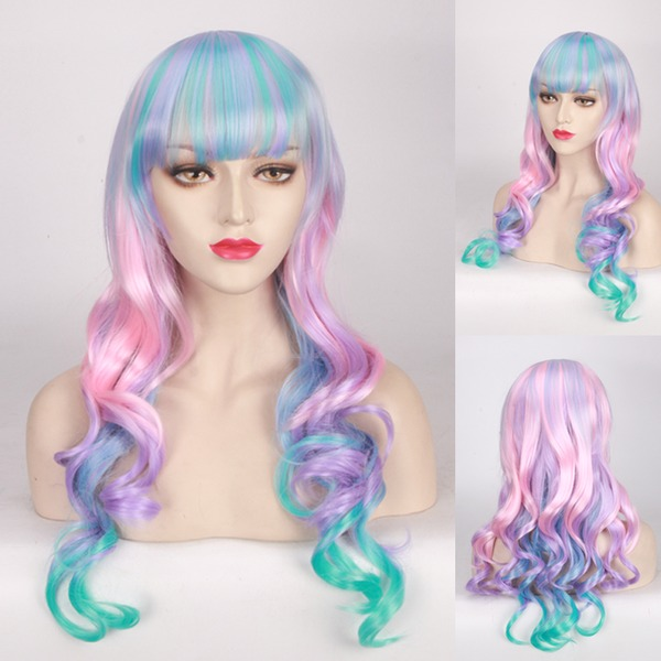 Loose Wavy Synthétique Perruques capless Cosplay / Perruques à la mode 300g
