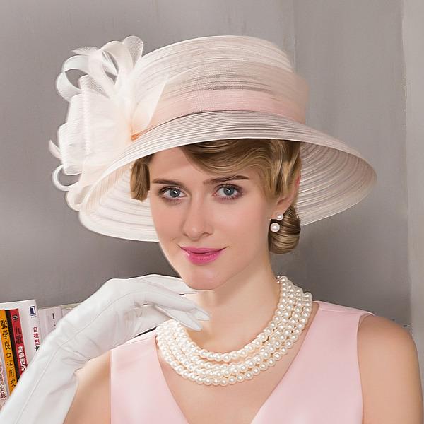Dames Beau Batiste Chapeau melon / Chapeau cloche/Kentucky Derby Des Chapeaux/Chapeaux Tea Party