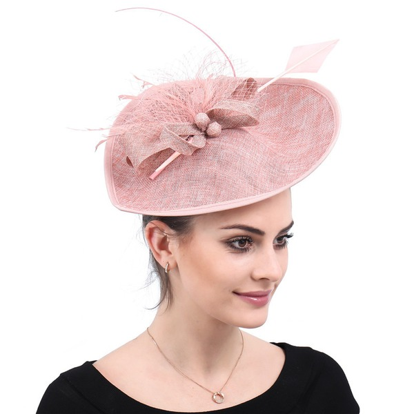Damer' Handgjord/Hetaste Batist Fascinators/Kentucky Derby Hattar