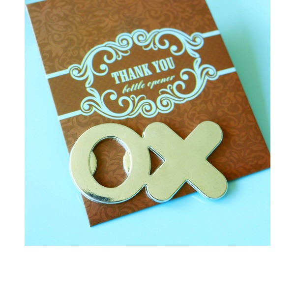 OX Bottle Opener in Brown Thank You Giftbag