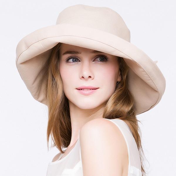 Ladies ' Elegant/Enkle/Smuk/Vintage Bomuld Diskette Hat