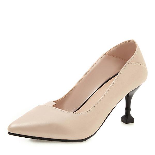 Naisten PU Piikkikorko Avokkaat kengät