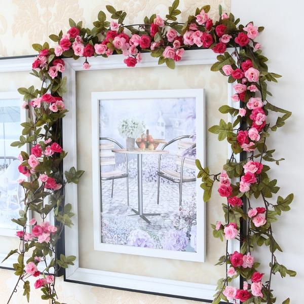 Flor de vid/Hermoso Atractivo Flores de seda Flores artificiales (Se venden en un montón)
