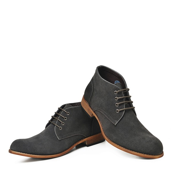 Mænd ægte læder Casual Støvler til Herrer