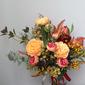 Pretty Hand-tied Simulation PU Materials/Silk Flower Bridal Bouquets -