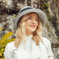 Señoras' Especial/Exquisito poliéster/Seda con Bowknot Sombreros Playa / Sol/Derby Kentucky Sombreros