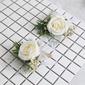 Sencillas y elegantes Forma libre Tela Conjuntos de flores - Ramillete de muñeca/Boutonniere