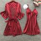 Bridal/Feminine Classic Imitated Silk Robes
